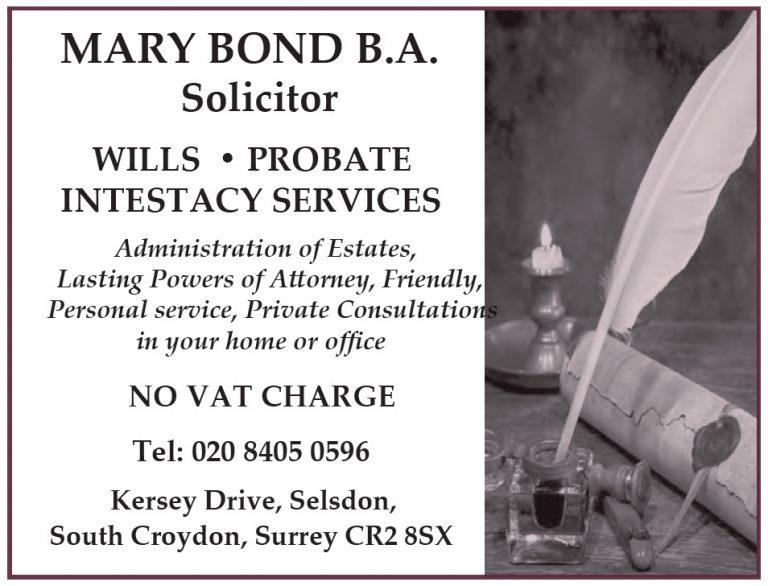 Mary Bond